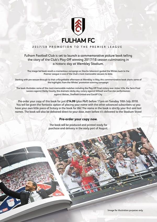 Fulham FC Promotion Book