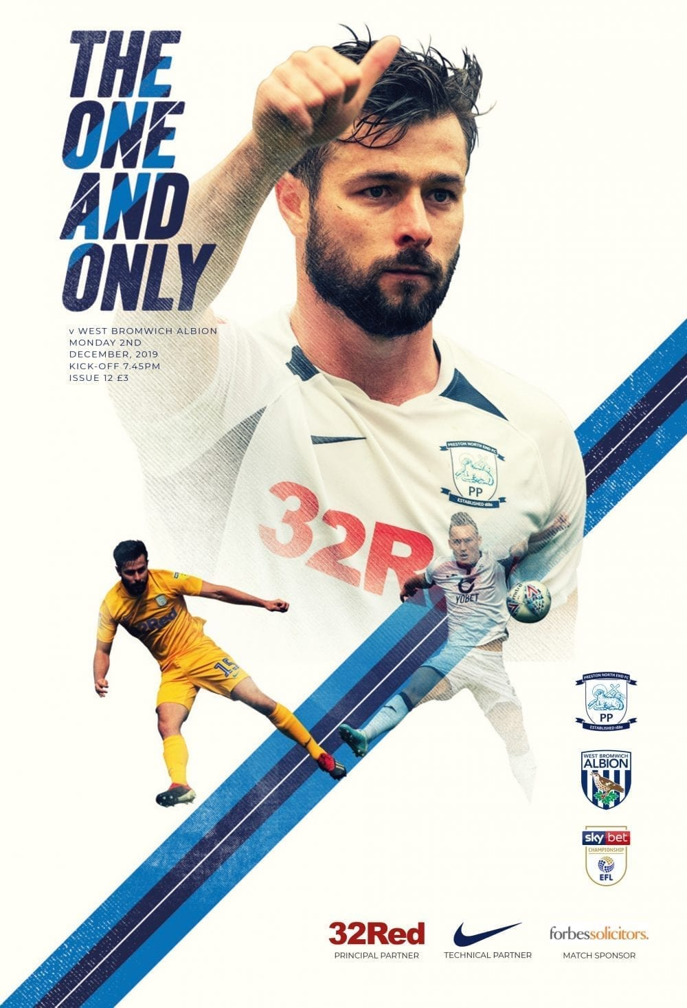 Preston North End v West Bromwich Albion